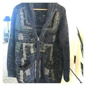 Aritizia Wilfred zipped cardigan